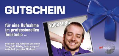 Geschenk Gutschein Wi Music Das Tonstudio In Erfurt